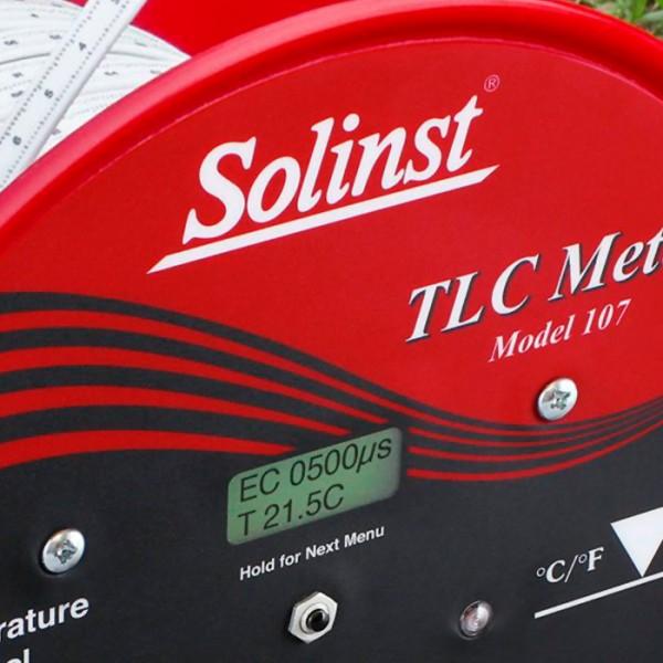 Medidor de Temperatura de Nivel y Conductividad de Agua TLC 107 Solinst
