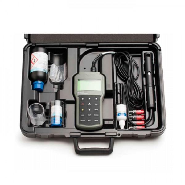Medidor Portátil de Oxígeno Disuelto y DBO HI98193 Hanna