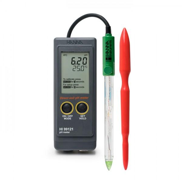 Medidor Portátil de medición directa del pH HI99121 Hanna