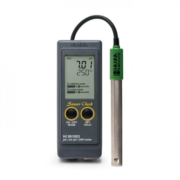 Medidor de pH / mV / ISE de Laboratorio de grado dos de laboratorio de investigación HI5222-01 Hanna