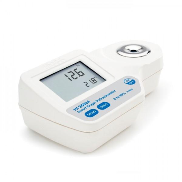 Refractómetro Digital para Análisis de Alcohol Potencial (% V / V) en Vino, moho y jugo según EEC HI96816 Hanna