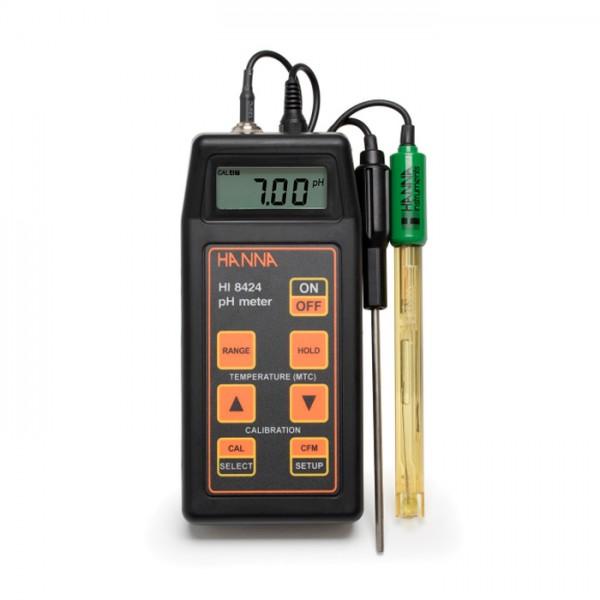 Medidor Portátil de pH / mV HI8424 Hanna