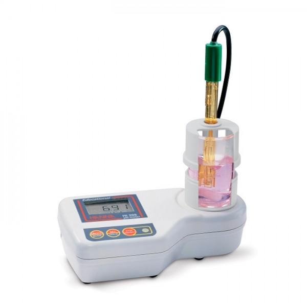 Medidor de pH de educación con agitador magnético incorporado HI208-01 Hanna