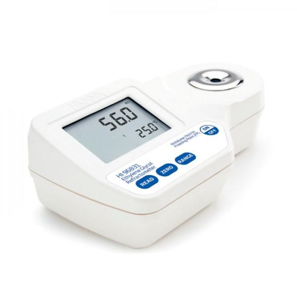Refractómetro Digital para Análisis de Etilenglicol HI96831 Hanna