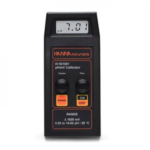 Simulador de pH / mV (con pantalla) HI931001 Hanna