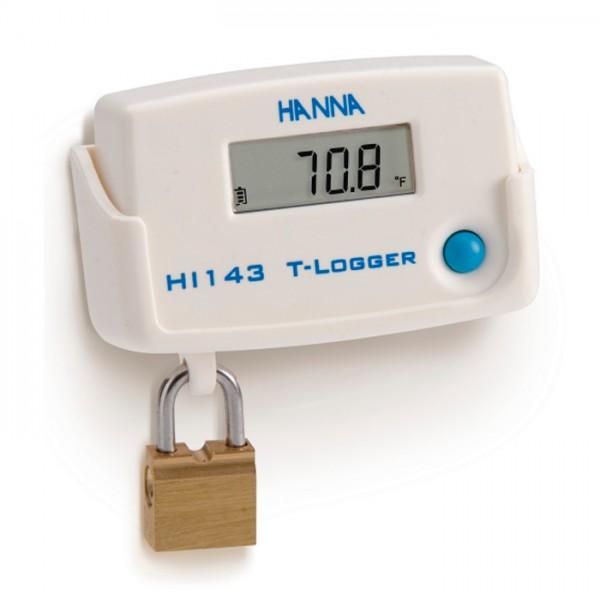 Temperatura T-Logger con bloqueo Wall Cradle HI143 Hanna
