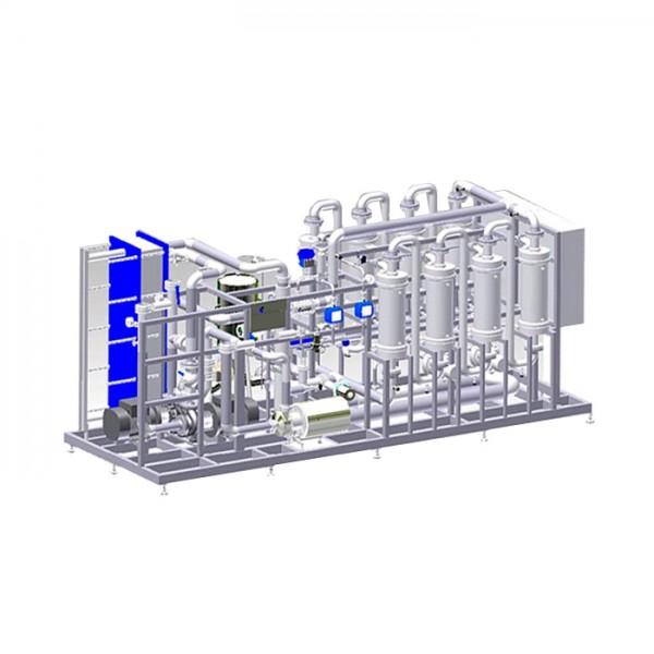 Sistema DGS: Desaireación del Agua de la Membrana Centec