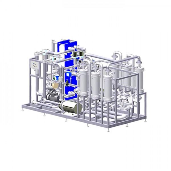 Sistema DeCarbonator: Descarbonatación y Carbonatación Centec