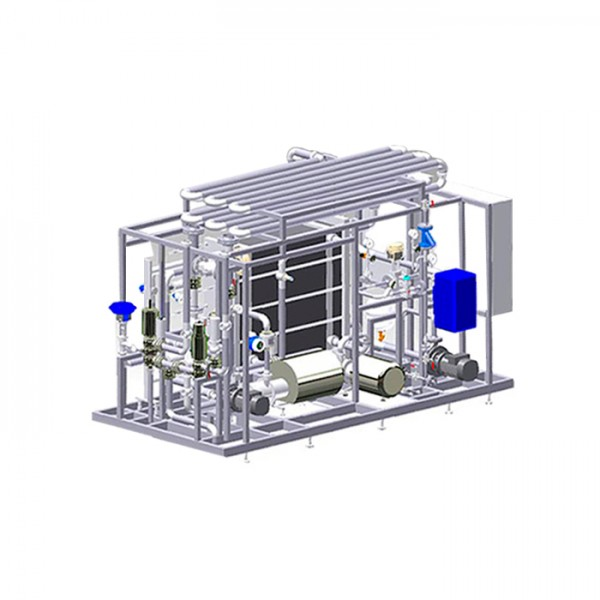 Sistema Flash Pasto: Pasteurizador de Flash Centec