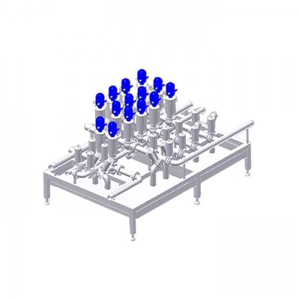 Sistema Valve Block: Bloque de Válvulas Centec