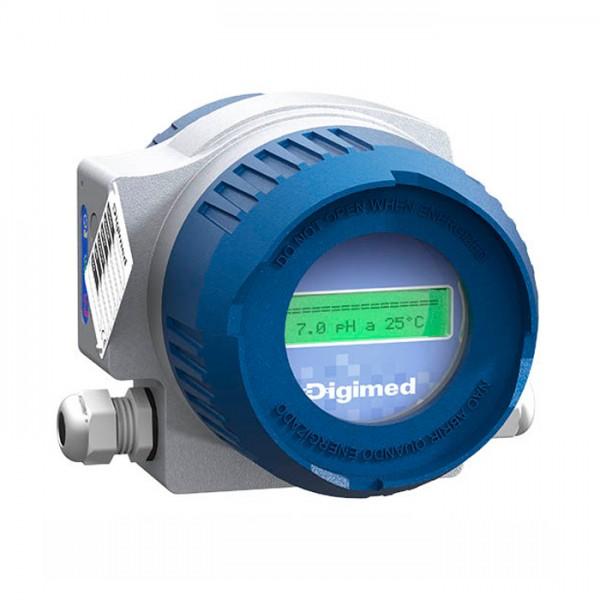 Analizador de pH ORP TH-401 Serie T Digimed