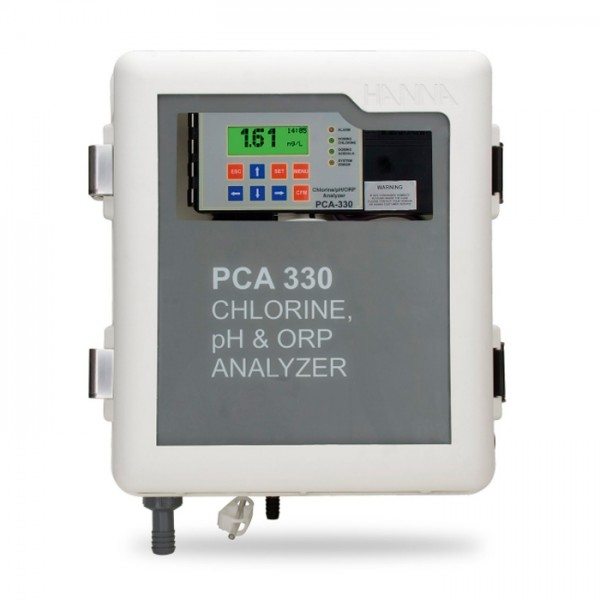 Analizador de pH, ORP y Temperatura PCA300 Family Hanna