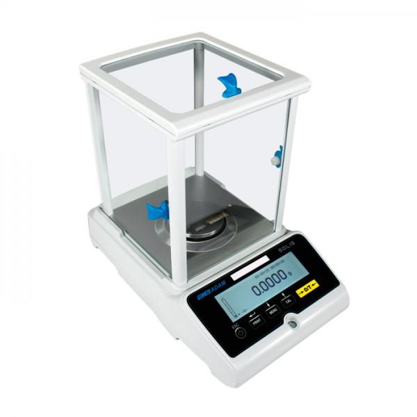 Balanza Analítica y Semi Micro Solis SAB 224i Adam
