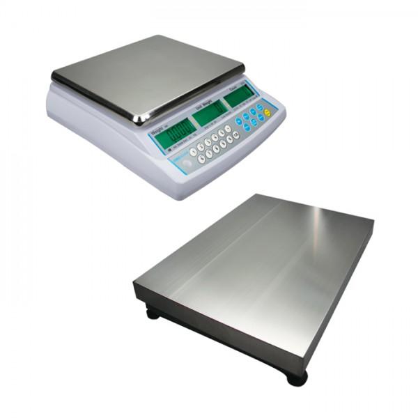 Báscula Cuentapiezas CDB 70a-330a + plataforma remota Adam