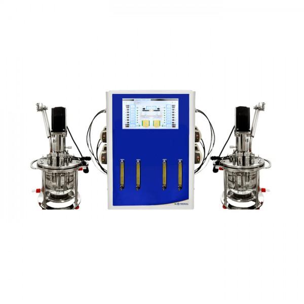 Biorreactor con de los Dornas de Reacción Tecnal