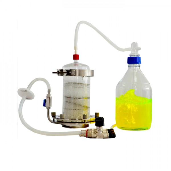 Biorreactor Inmersión Temp. Por Burbujas Tecnal