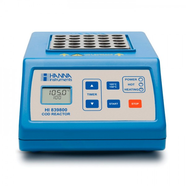 Calentador de Tubo de Prueba COD HI839800-01 Hanna