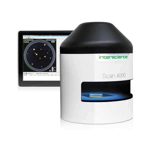 Contador de Colonias Automatic Colony Counter Ultra HD Scan 4000 Interscience