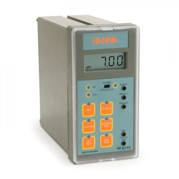 Controlador analógico de pH con prueba de autodiagnóstico HI8710 Hanna