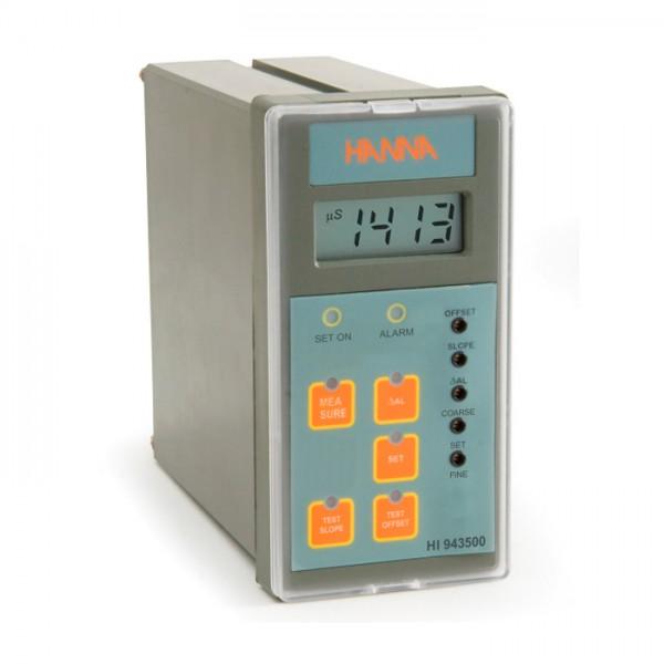 Controlador analógico EC con entrada directa desde sonda potenciométrica HI943500 Hanna