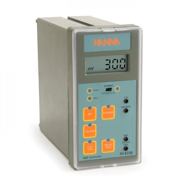 Controlador analógico ORP con prueba de autodiagnóstico HI8720 Hanna