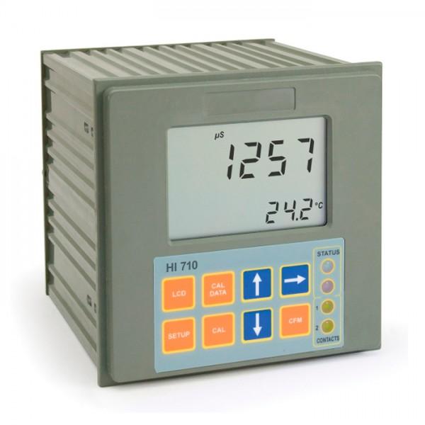 Controlador de conductividad y TDS montado en panel HI710 Hanna