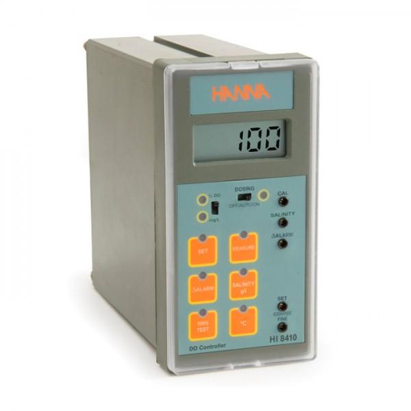 Controlador de oxígeno disuelto con rango extendido y salida analógica HI8410 Hanna
