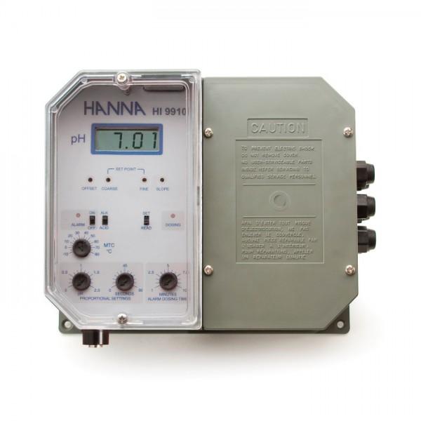 Controlador de pH Setpoint montado en la pared de grado industrial HI9910-1 Hanna