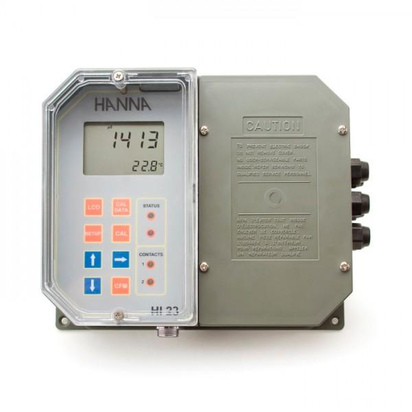 Controlador digital EC montado en la pared HI23211-1 Hanna