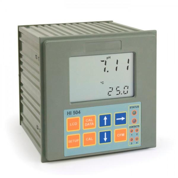 Controlador digital pH / ORP con Tele-Control ™ y Sensor Check HI504 Hanna