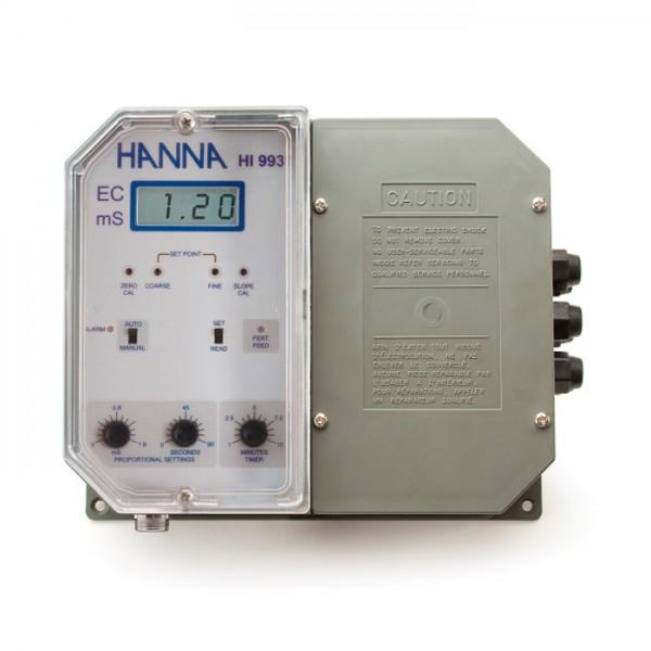 Controlador EC de grado industrial con dosificación proporcional de fertilizante HI9931-1 Hanna