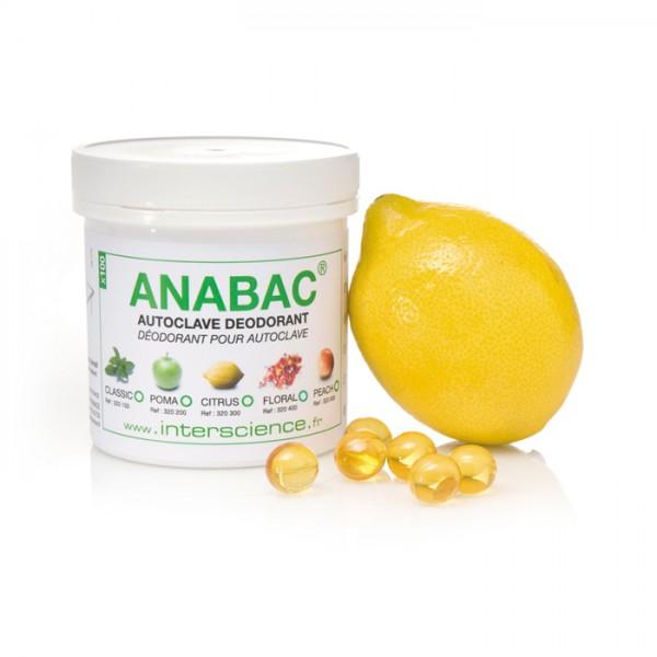 Desodorante para Autoclave Anabac® Citrus Interscience