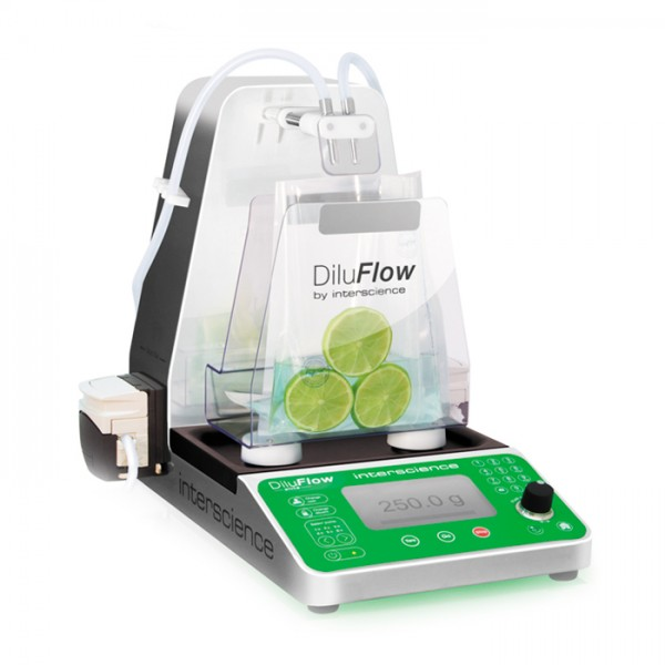 Diluidor Gravimétrico 5 Kg conectado DiluFlow® Elite 5 Kg Interscience
