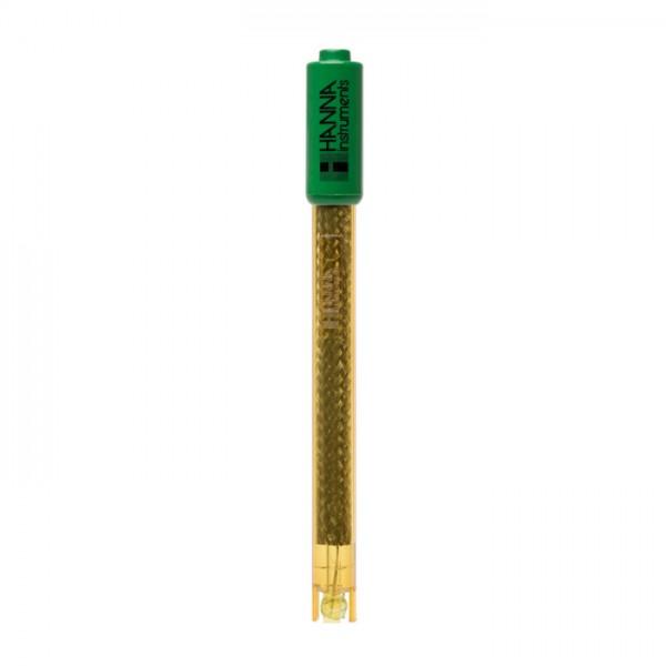 Electrodo de pH HI2112B de media célula de cuerpo PEI con conector BNC Hanna
