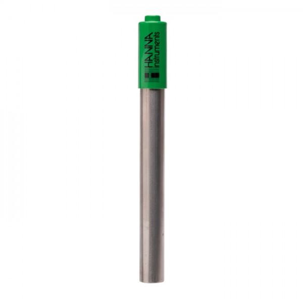 Electrodo de pH HI72911D para calderas y torres de enfriamiento (Cuerpo de titanio y con conector DIN) Hanna