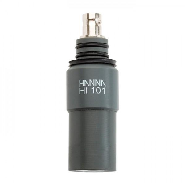 Electrodo de pH sumergible con cuerpo de PVC y conector BNC HI101 Hanna