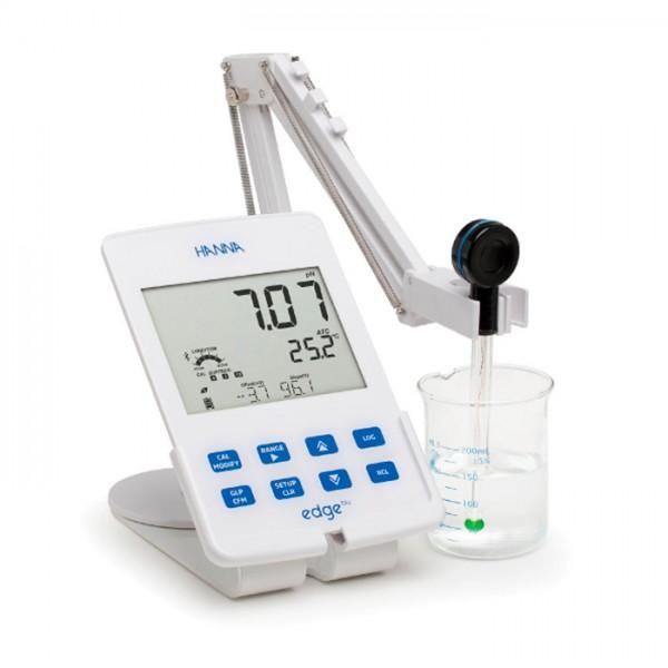Medidor de pH inteligente Bluetooth Edge® blu Bluetooth®HI2202-01 Hanna