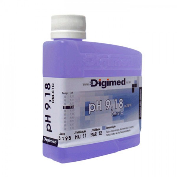 Estándar de pH DM-S1C Digimed