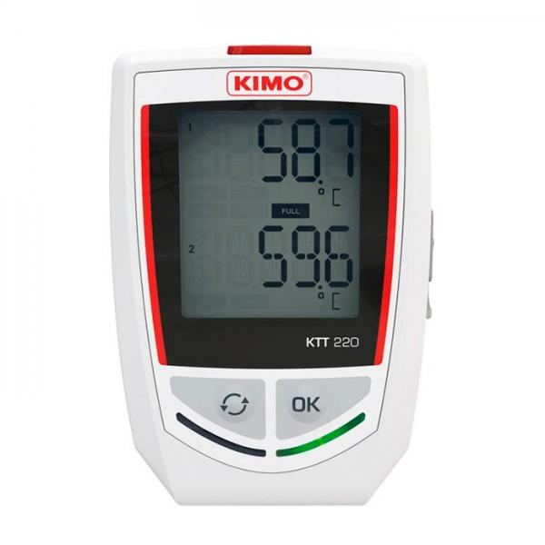 Grabador Autónomo de Temperatura KKT 220 Kimo