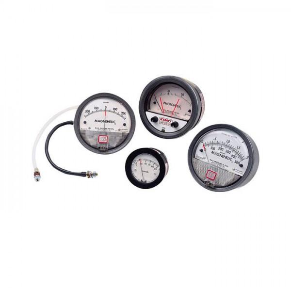 Manómetro Diferenciales de baja Presión Series 2000 y 2300 Kimo