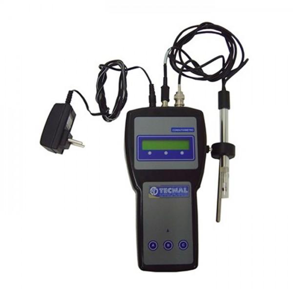 Medidor de Conductividad Portátil TEC-4P-MP Tecnal