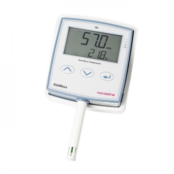 Medidor de Humedad y Temperatura StatMaxx Novasina
