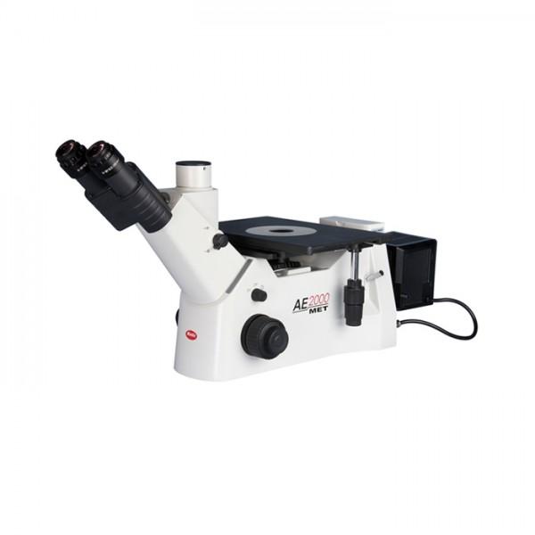 Microscopio Industrial Metalúrgico AE2000MET Trinocular con 50W illumi Motic
