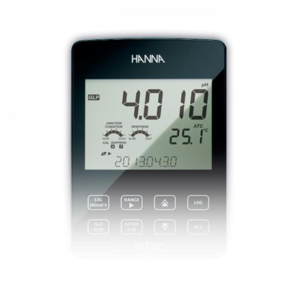 Multiparámetro de Edge EC / TDS / Medidor de salinidad HI2030-01 Hanna