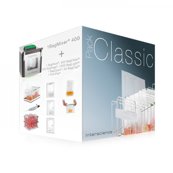 Pack de Bolsas Bagmixer® Classic Pack Interscience
