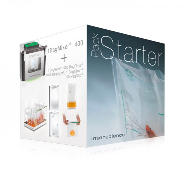 Pack de Bolsas BagMixer® Starter Pack Interscience