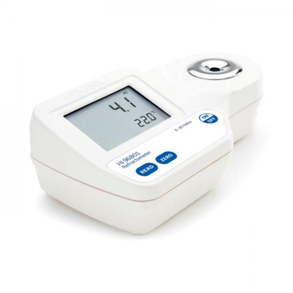 Refractómetro Digital para Análisis Brix en alimentos HI96801 Hanna