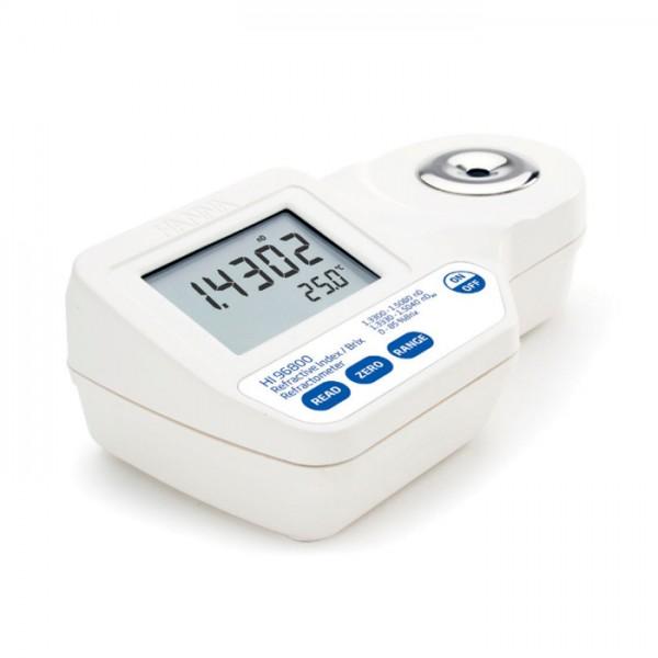 Refractómetro Digital para índice de refracción y Brix HI96800 Hanna
