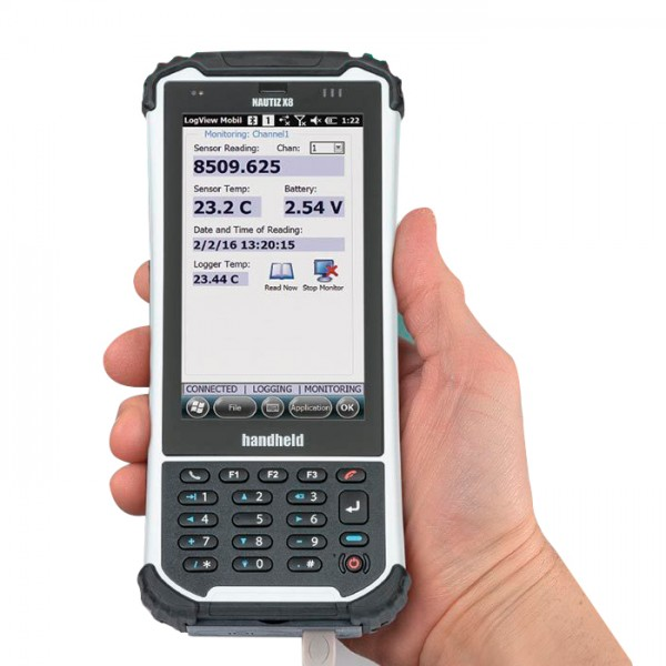 Registrador de Datos LogView Mobile Software 8001-10 Geokon