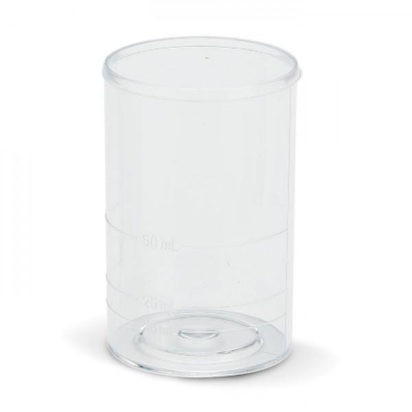 Set de vasos de Plástico, 100 ml (10) HI740036P Hanna